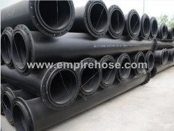 Gas drainage and discharge hose for mining