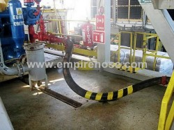 Rubber hose for HP marine oil delivery